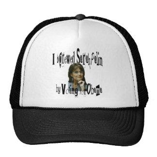 Sarah Palin I screwed Sarah Palin by voting Obama Trucker Hat