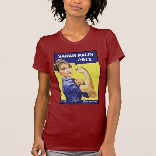 Sarah Palin - I'LL BE BACK! 2012 - Customizable T-Shirt