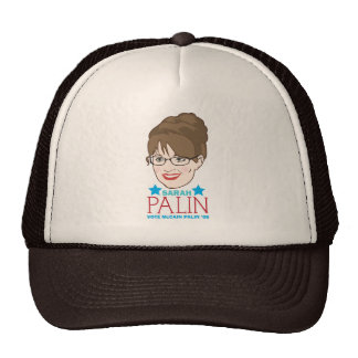 Sarah Palin Illustrated Hat
