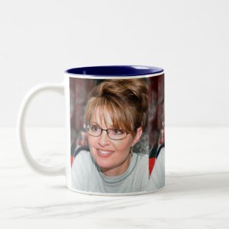 Sarah Palin in Kuwait Mug mug