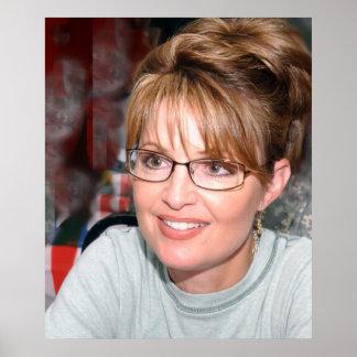 Sarah Palin in Kuwait Poster