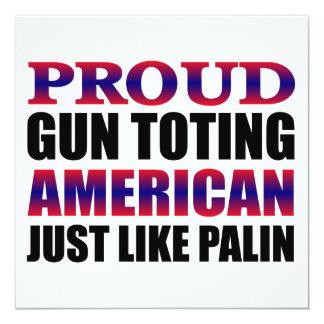 Sarah Palin Personalized Invite