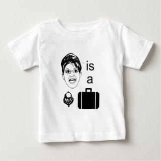 Sarah Palin is a Nut Case Baby T-Shirt