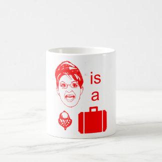 Sarah Palin is a Nut Case Classic White Coffee Mug