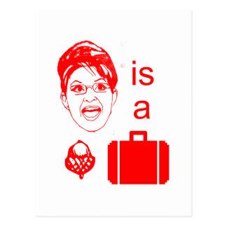 Sarah Palin is a Nut Case Postcard