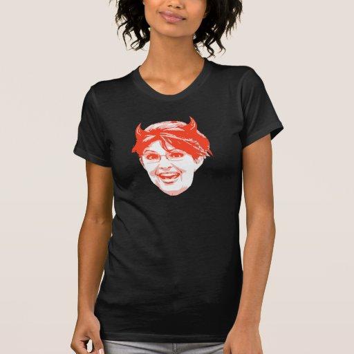 Sarah Palin is the devil t-shirt