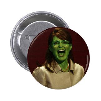 Sarah Palin la bruja Pin Redondo 5 Cm