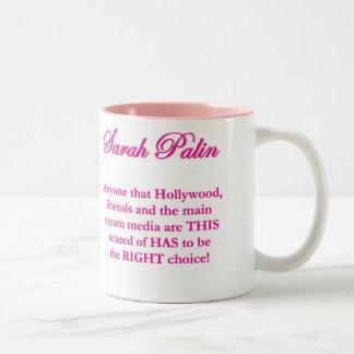 Sarah Palin - liberales de Hollywood y la taza de