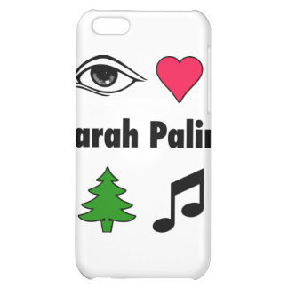 Sarah Palin Loves Country Music iPhone 5C Case