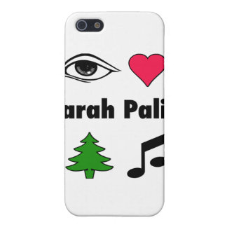 Sarah Palin Loves Country Music iPhone 5 Cases