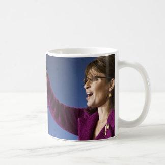Sarah Palin: Magenta Point Mug