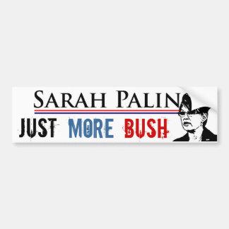 Sarah Palin - más pegatinas para el parachoques de Pegatina Para Auto