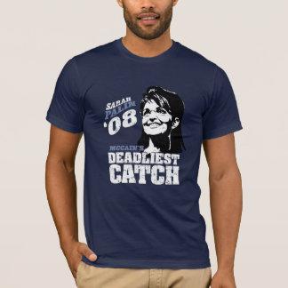 Sarah Palin Mccains Dealiest Catch T-Shirt