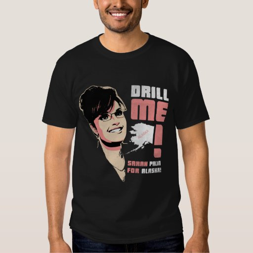 """Sarah Palin """"me perfora!"""" Camiseta Polera"""