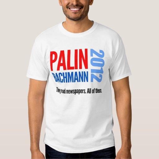 Sarah Palin / Michele Bachmann 2012 campaign T-shirts