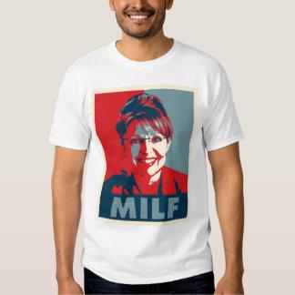 """Sarah Palin """"MILF"""" t shirt"""