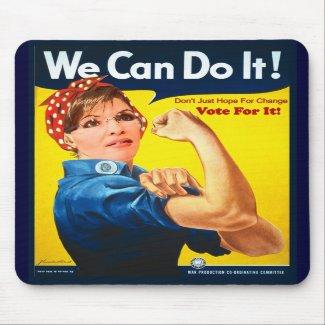 Sarah Palin Mousepad mousepad
