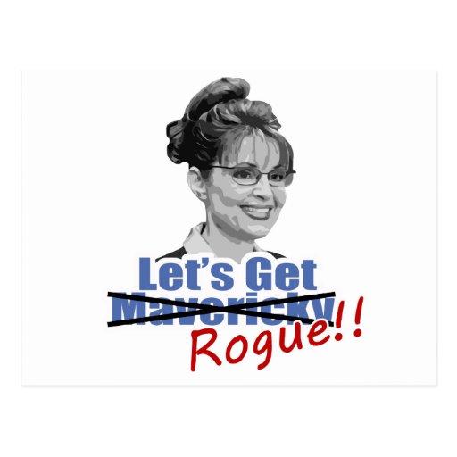 Sarah Palin no Mavericky consigue al granuja Postal