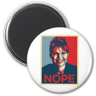 Sarah Palin.  Nope Imán Redondo 5 Cm