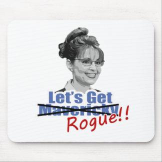 Sarah Palin Not Mavericky Get Rogue Mousepad