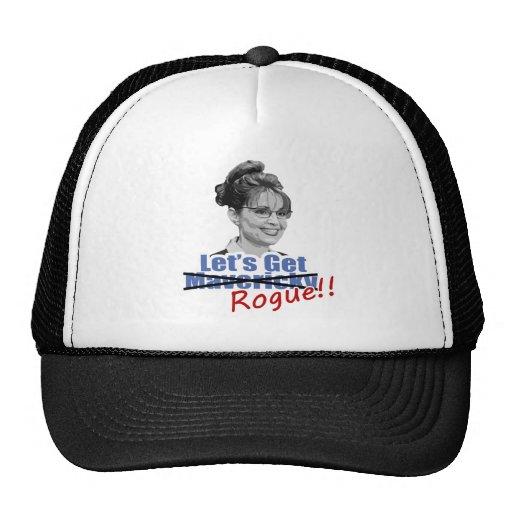 Sarah Palin Not Mavericky Get Rogue Trucker Hat