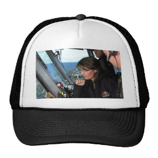 Sarah Palin On The U.S.S. Stennis Trucker Hat