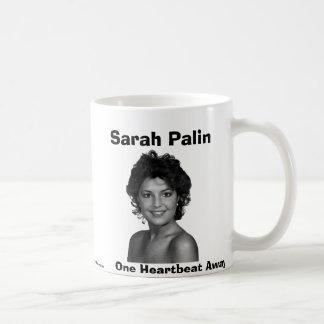 Sarah Palin, One Heartbeat Away Coffee Mug