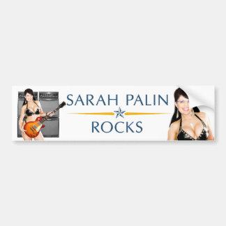 Sarah Palin oscila a la pegatina para el parachoqu Pegatina Para Auto