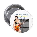 Sarah Palin oscila el botón Pins