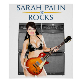 Sarah Palin oscila el poster