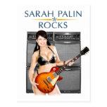 Sarah Palin oscila la postal