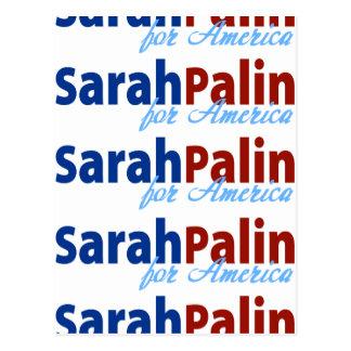 Sarah Palin para América Postal
