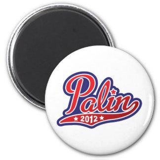 Sarah Palin para el presidente 2012 Imán Redondo 5 Cm