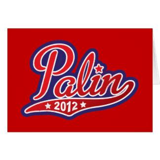 Sarah Palin para el presidente 2012 Tarjeta De Felicitación