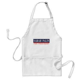Sarah Palin para el presidente Delantal