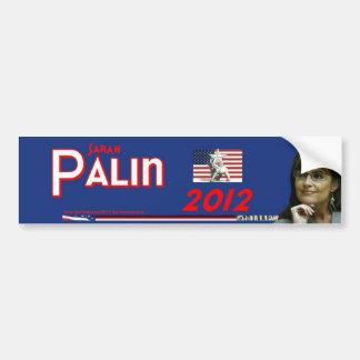 Sarah Palin para el presidente Pegatina Para Auto