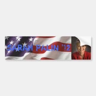 Sarah Palin para el presidente pegatina para el pa Pegatina Para Auto