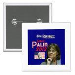Sarah Palin para el presidente Pin