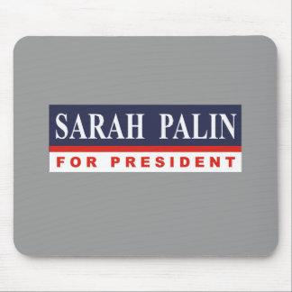 Sarah Palin para el presidente Alfombrilla De Raton