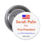 Sarah Palin para VP Pin