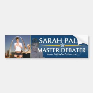 Sarah Palin - pegatina para el parachoques princip Pegatina Para Auto