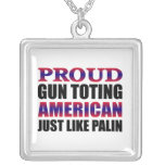 Sarah Palin Personalized Necklace