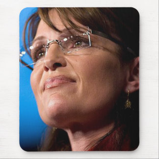 Sarah Palin Photograph Mousepads