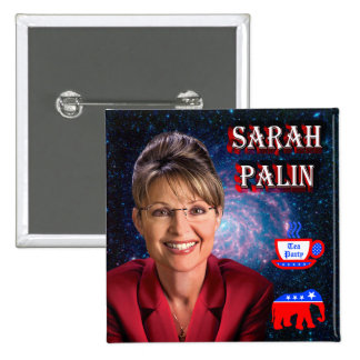 Sarah Palin Pinback Button