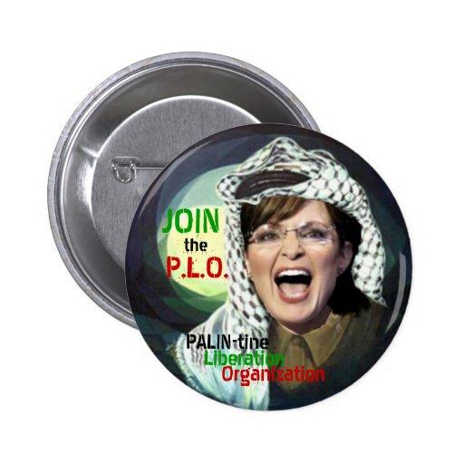 Sarah Palin PLO Button