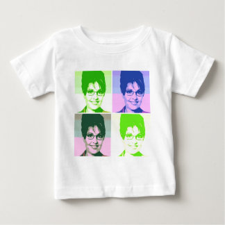 Sarah Palin Pop Art Baby T-Shirt