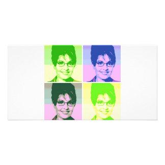 Sarah Palin Pop Art Card