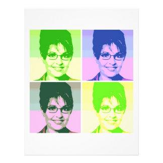 Sarah Palin Pop Art Flyer