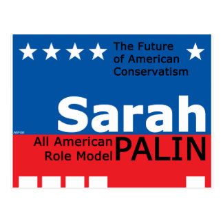 Sarah Palin Postcard
