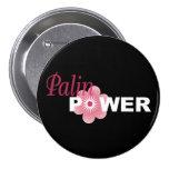Sarah Palin Power Pinback Button